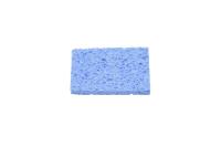 Губка для очистки жал паяльников 80x52x10 mm голубая