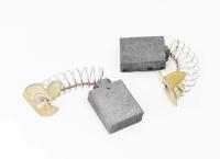 617 Электроугольная щетка 6,5х14х16 пружина, пятак-уши для Makita СВ-155