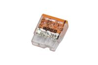 Электромонтажные экспресс-клеммы 3 x 2.5mm 07-5132