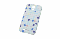 170216 Чехол PrintCover Samsung Galaxy S4 Blue Square Krusell (KS-89865)