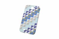 170218 Чехол PrintCover Samsung Galaxy S4 Blue Triangle Krusell (KS-89867)