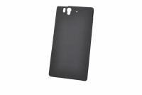 170402 Чехол-накладка Sony Xperia Z Elecom 12247 (черный)