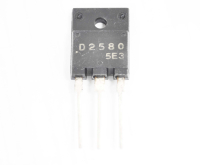 2SD2580 (800V 10A 70W npn+D+R) TO3PF Транзистор
