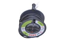 Удлинитель Эра 220V 4 розетки 20,0м RMx-4es-3x2.5-20m катушка (с заземлением)