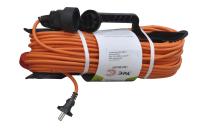 Удлинитель Эра 220V 1 розетка 50,0м UFx-1.2x1.5-50m на рамке (без заземления)