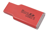 18867 Картридер Walker WCD-09 micro SD USB 2.0