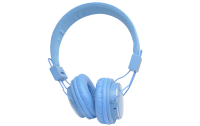 Беспроводные наушники L-PRO MRH8809 голубые