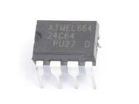 AT24C64A-10PU-2.7 (24C64A PU27) DIP Микросхема