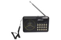 Радиоприемник JIOC H033UR аккумулятор Li-Ion, USB, SD card, AUX черный