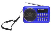 Радиоприемник JIOC H400UR аккумулятор Li-Ion, USB, SD card, AUX синий