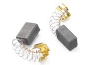 Электроугольная щетка 6х9х12 пружина, пятак-зацеп для Makita СВ-419А №A0248