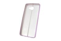 """Чехол """"хром кожа шов"""" Samsung Galaxy A510 (розовый) 00-143"""