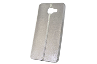 "Чехол ""хром кожа шов"" Samsung Galaxy A510 (серебро) 00-144"