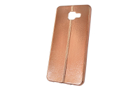 "Чехол ""хром кожа шов"" Samsung Galaxy A710 (бронза) 00-146"