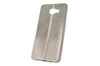 "Чехол ""хром кожа шов"" Samsung Galaxy A710 (серебро) 00-149"