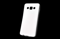 "Чехол ""под кожу"" Samsung Galaxy A3 (белый) 00-165"