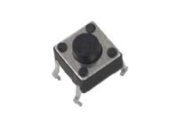 Кнопка 4-pin  6x6 mm L=5 mm SWT-20-5 (KAN0611-0501B) №77