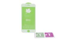 Защитное стекло Flamie iPhone 6/6S 3D, белое