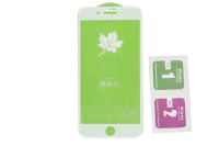 Защитное стекло Flamie iPhone 7/8 Plus 3D, белое
