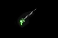Светодиод  5мм FYL-4813 PGC - зеленый (1500mcd 120*)