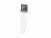 КП504А (240V 250mA 1W N-Channel MOSFET) TO92 Транзистор