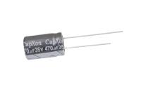 470mkF  35v 105C Capxon KM конденсатор