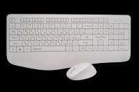 30703 Игровой беспроводной набор Qumo Space K57/M75 (клавиатура+мышь) белый