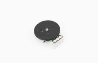 Резистор переменный 4pin B10K (круглый)