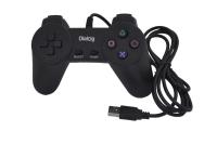Джойстик Dialog GP-A01 Action, 10 кнопок, USB, черный
