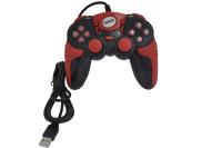 Джойстик Dialog GP-A15 Action, 12 кнопок, USB, вибрация, черно-красный