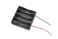 Батарейный отсек BH341 (UM-3X4) 4xAA 58x63x15.7