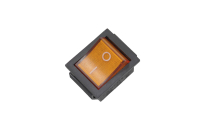 Переключатель KCD2 (RWB-502) On-Off желтый 250V 16A T85 (4c) 36-2333