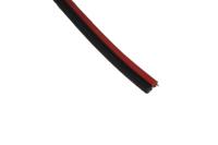 Кабель акустический 2 x 0.50mm красно-черный 01-6103-6