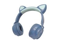 32302 Беспроводные наушники Qumo Party Cat ВТ-0028 бирюзовые