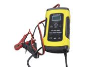 Зарядное устройство для аккумулятора FOXSUR 12V 4Ah-100Ah с крокодилами