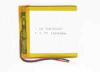 00-00016000 Аккумулятор 3.7V 1800mAh 4.0x50x50mm универсальный с проводками