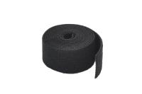 Лента-липучка 19мм 1м чёрная