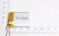 00-00015972 Аккумулятор 3.7V 350mAh 3.0x28x30mm универсальный с проводками