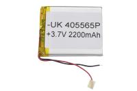 00-00016007 Аккумулятор 3.7V 2200mAh 4.0x55x65mm универсальный с проводками