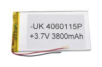 00-00016010 Аккумулятор 3.7V 3800mAh 4.0x60x115mm универсальный с проводками
