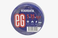 11669 Изолента Еврогарант 15mm х 5м синяя