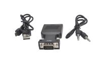 25511 Адаптер переходник HDMI-VGA- AUX