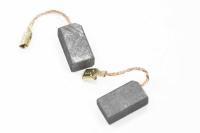 433 Электроугольная щетка 6х8х14, поводок клемма-мама (пара)
