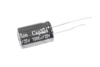 1000mkF  35v 105C Capxon KM