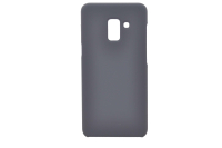 Silicon-SoftTouch Cover SAM A5 (2018()/A8 (2018) черный