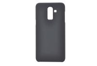 Silicon-SoftTouch Cover SAM J8 2018 черный