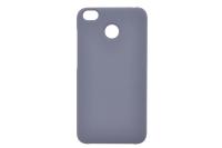 Silicon-SoftTouch Cover XIA RedMi 4X черный