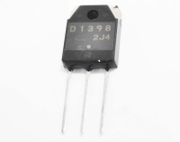 2SD1398 (800V 5A 120W npn+D+R) TO3P Транзистор