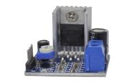УНЧ на TDA2030 2х18W-4Om, питание 12V (плата с радиатором)