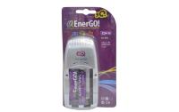 Зарядное устройство EnerGO C24-10 R3/R6 с аккумуляторами 1000mAh в комплекте